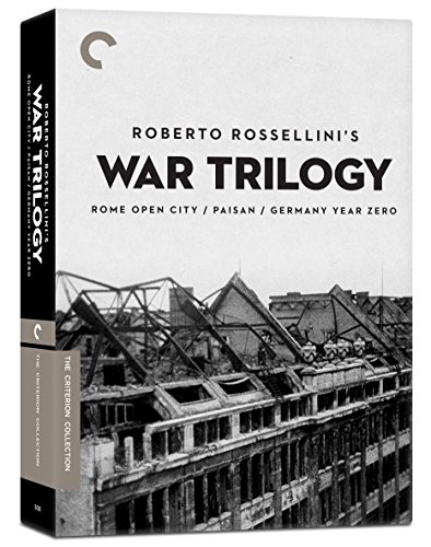 Roberto Rossellini's War Trilogy (Rome Open City / Paisan / Germany Year Zero) (The Criterion Collection) by Criterion