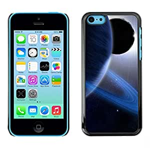LECELL -- Funda protectora / Cubierta / Piel For Apple iPhone 5C -- Space Planet Galaxy Stars 13 --