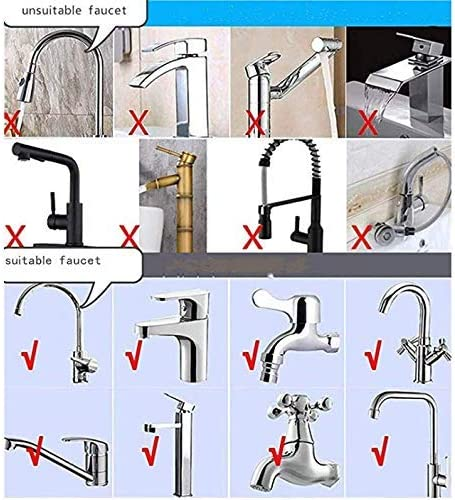 Stratomax Faucet Mount Water Filter - Faucet fittings