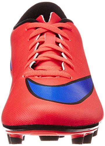 Nike  Mercurial Vortex II FG - Zapatillas de fútbol para Hombre Rojo
