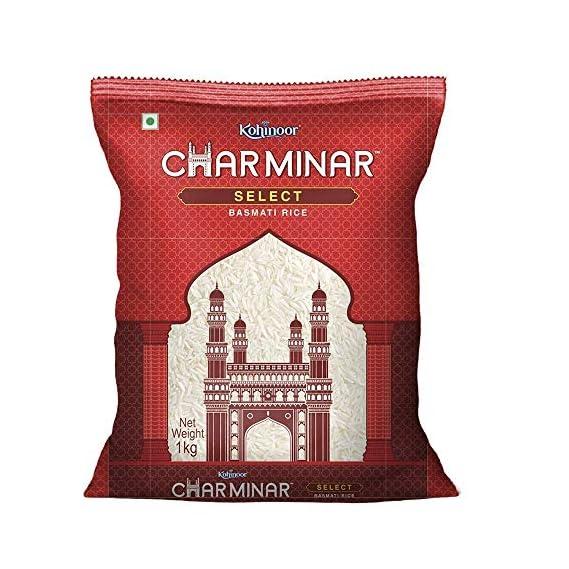 Kohinoor Charminar Select Basmati Rice, 1 kg Pack