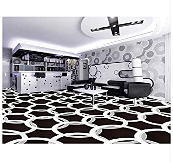 3D Hintergrundbild Wallpaper Boden Pvc Wandbild 3D Geometrische ...