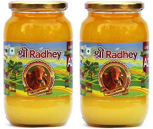 Shree Radhey Certified A2 Gir Cow Ghee - Gluten Free - (Traditionaly Hand Churned) (1000 ml X 2) by Shree Radhey (Image #8)