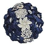 JACKCSALE-Wedding-Bride-Bridal-Bouquet-Brooch-Bouquet-Bridesmaid-Valentines-Day-Bouquet-Confession-D494-CREAM