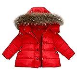 Clearance Deals Coats BeautyVan Baby Girls Boys Kids Christmas Winter Button Zipper Hooded Jacket Coat