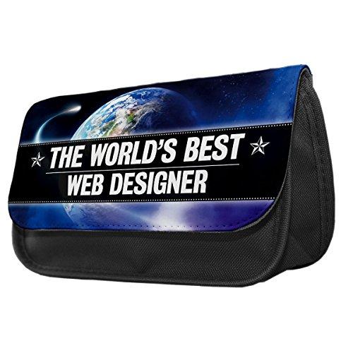 World s Best Web Designer Bleistift Fall/Make-up Tasche 206