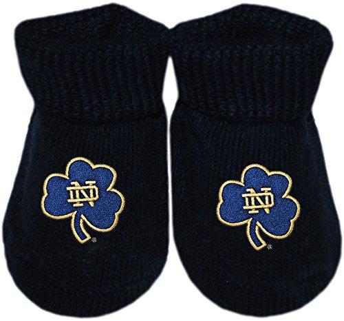 春のコレクション ノートルダム大学Fight Irish B01MRLZNVY Shamrock Irish NCAA公式ソリッド色付き新生児Baby Bootie Sock Sock ネイビー/ゴールド B01MRLZNVY, キングラス:1990cf41 --- domaska.lt