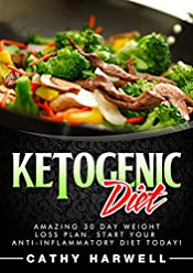Ketogenic Diet: Amazing 30 Day Weight Loss Plan. Start Your Anti-inflammatory Diet Today! (Ketogenic Diet, Clean Eating, Ketogenic Diet Recipes)