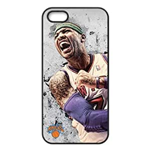 iPhone 5/5s TPU Case with New York Knicks Carmelo Anthony Image Background Design-by Allthingsbasketball