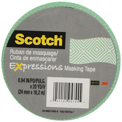 Scotch Decorative Masking X20yd Mosaic