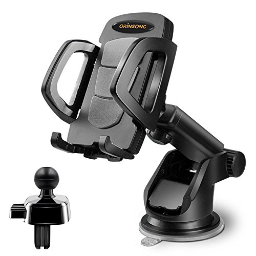 Cell Phone Holder for Car, Orinsong Car Phone Mount with Was
