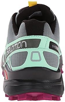 Salomon Women's Speedcross 3 Cs W Trail Running Shoe, Light Ttlucite Greenmystic Purple, 5 B Us 1
