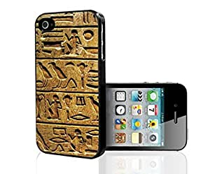 Ancient Egypt Kaligrafi Carvings Hard Snap on Phone Case (iPhone 6 plus)
