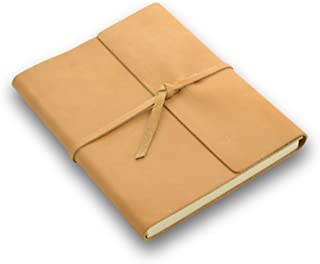 product image for Rustico Rustic Leather Writer's Book - A Leather Journal with Lined Pages - Buckskin