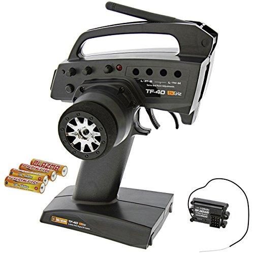 HPI 1/12 Wheely King 4x4 TF-41 2.4GHz 3-CH RADIO TRANSMITTER & RF-41WP RECEIVER