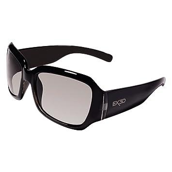 EX3D G5000-018 - Gafas 3D polarizadas de graduadas negro