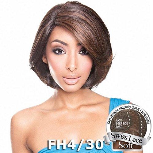 Brown Sugar Hair - ISIS Brown Sugar Human Hair Blend Soft Swiss Lace Front Wig - BS210 (SH4/30)