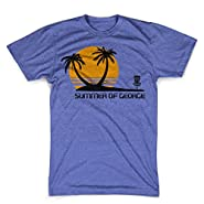 Summer of george shirt funny frisbee golf tshirt funny tees