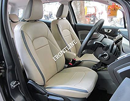 FRONTLINE PU Leather Car Seat Cover For Ford Ecosport