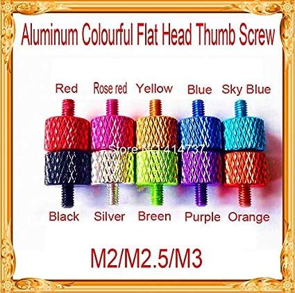 Amazon com: Ochoos 20pcs/lot M2/M2 5/M3 Aluminum Alloy Colourful