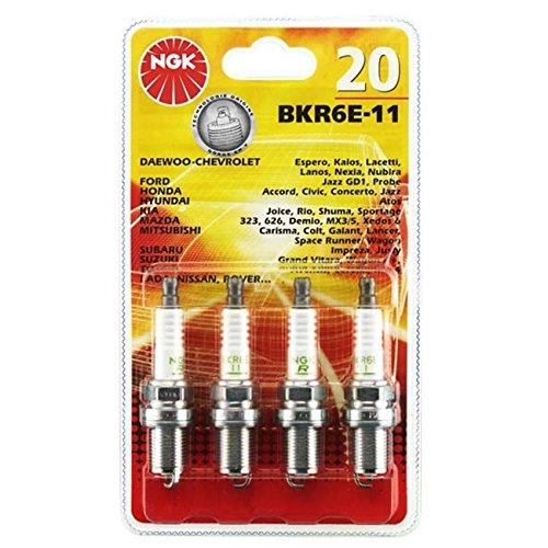 ngk spark plugs NGK20 Blister 4 Bougies BKR6E-11