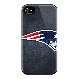 NathanBy Case Cover Protector Specially Made For Iphone 4/4s New England Patriots 11
