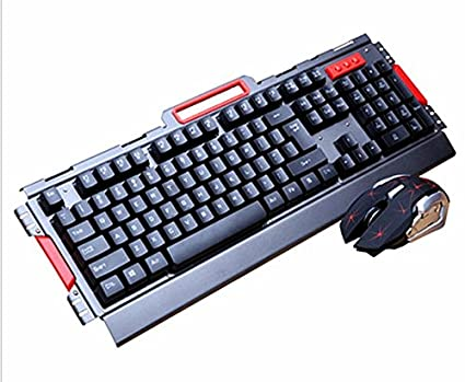 Amazon com: Wireless Gaming Keyboard and Mouse Sets - USB