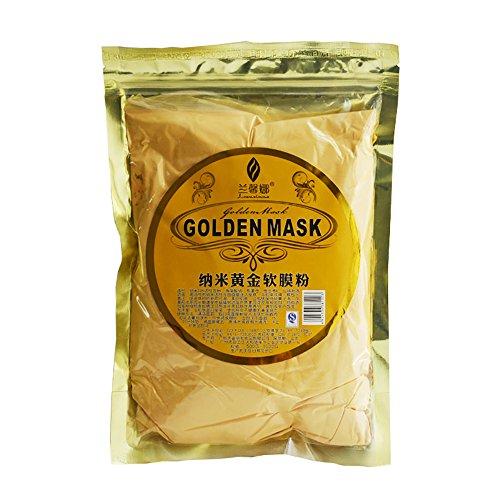 24K GOLD Active Face Mask Powder Brightening Luxury Spa Anti Aging Wrinkle 24K Gold Mask Powder (Fancy Face Masks)