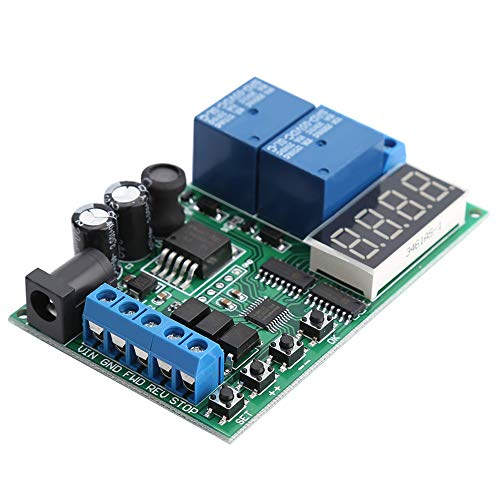 5V - 24V Motor Forward/Reverse Controller Timing Delay Time Cycles Relay Motor Controller Board