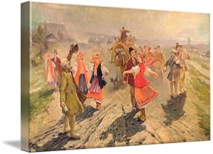Amazon com: Wall Art Print Entitled Wedding Procession in