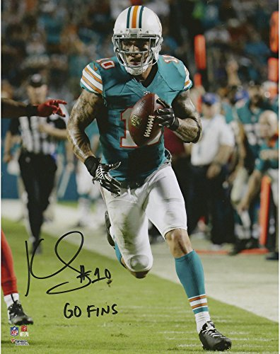 Kenny Stills Miami Dolphins Autographed 8