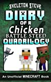 "Love MINECRAFT? **Over 66,000 words of kid-friendly fun!** This high-quality fan fiction fantasy diary book BOX SET is for kids, teens, and nerdy grown-ups who love to read epic stories about their favorite game! All FOUR ""Chicken Battle Stee..."