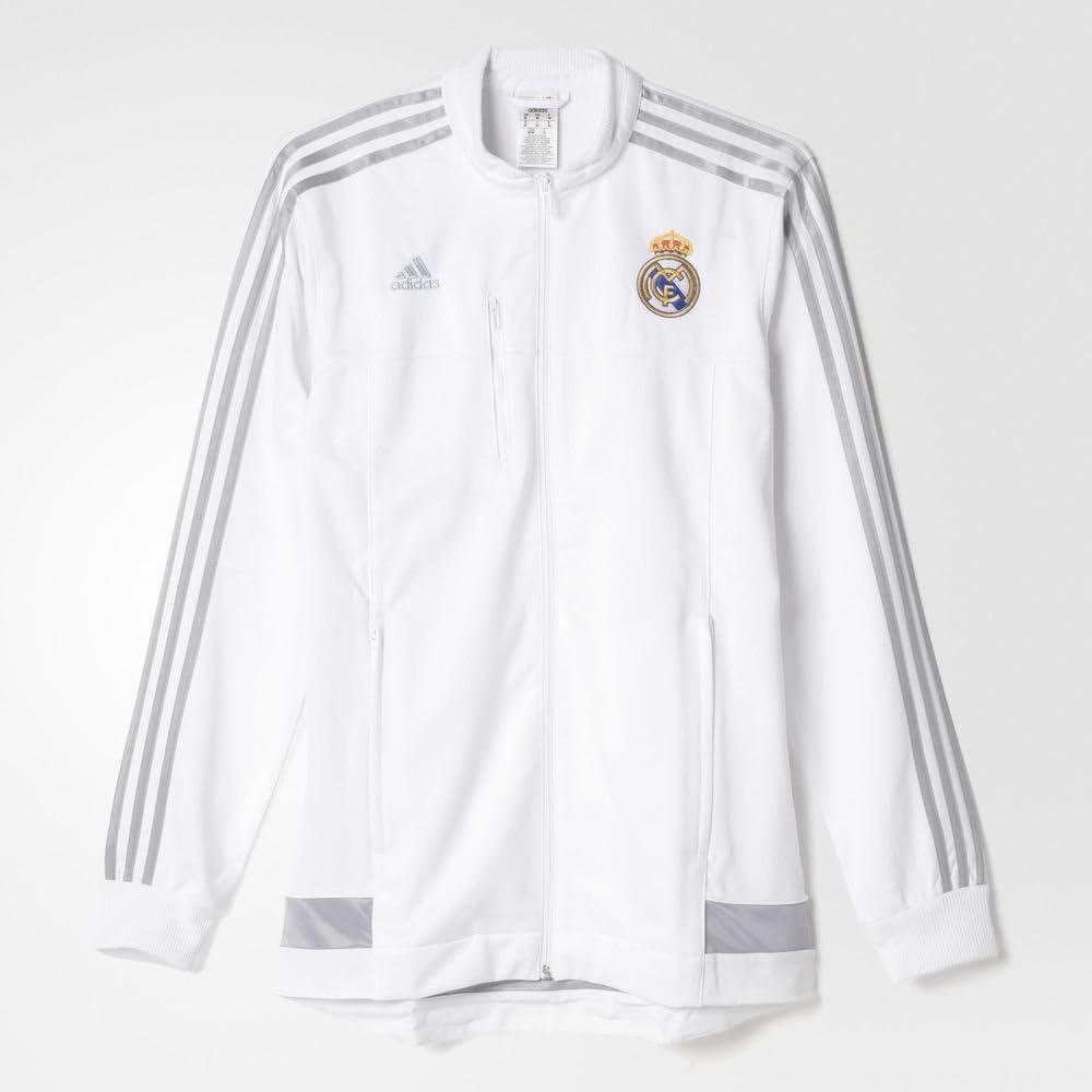 adidas 201516 Real Madrid CF Anthem Veste pour Homme [Blanc