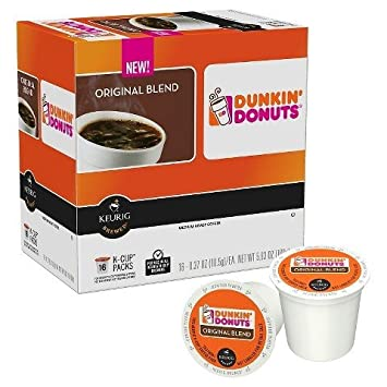 Amazoncom Dunkin Donuts Original Blend KCUP Medium Roast 54