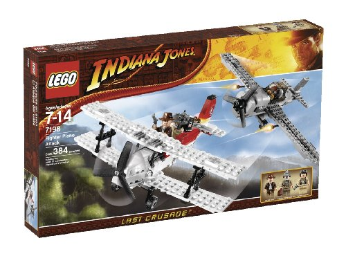 LEGO Indiana Jones Fighter Plane Attack (7198) (Jones Fighter Plane Indiana)