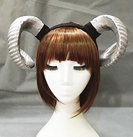 Black Changlesu Gothic Sheep Horn Punk Headband Forest Animal Photography Cosplay Photo Props Steampunk Hair Accessory