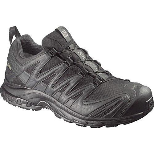 Salomon XA PRO 3D GTX Forces Shoes, Black/Asphalt, Size 12 US, 373488