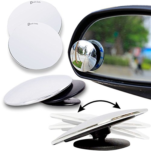 Price comparison product image Zento Deals Blind Spot Adjustable Mirrors - 2-Pack Superior Quality