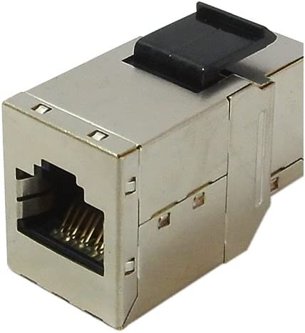 RiteAV RJ45 Female to Female STP CAT.6A Keystone Coupler Shielded 10GB