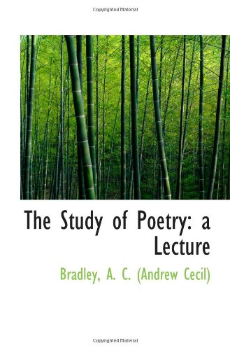 The Study of Poetry: a Lecture pdf