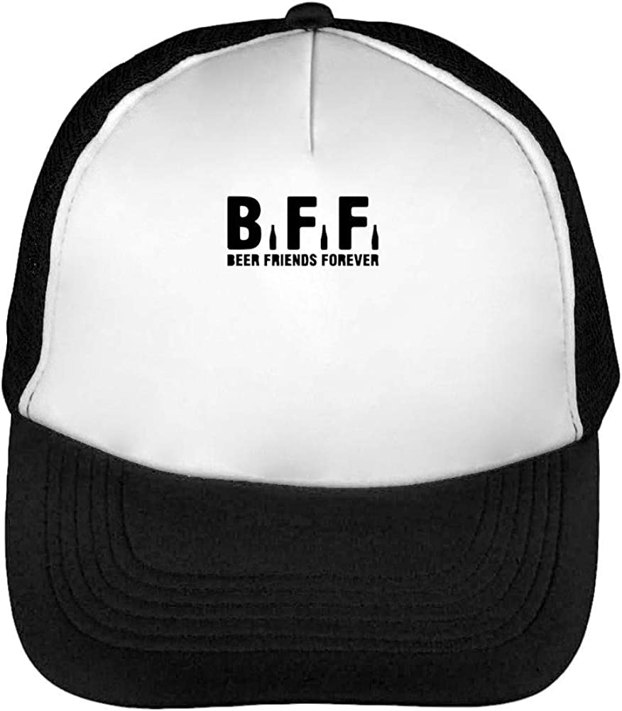 Bff Beer Friends Gorras Hombre Snapback Beisbol Negro Blanco ...