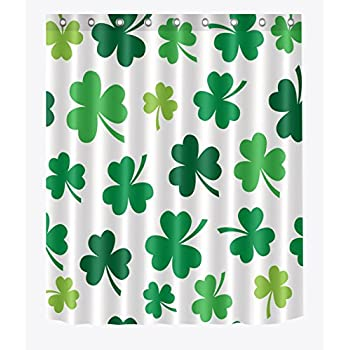Amazon.com: Ambesonne St. Patrick\'s Day Shower Curtain, Irish Party ...