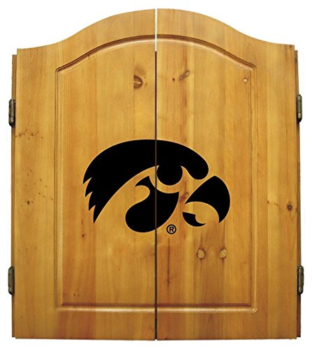 Imperial NCAA Dart Cabinet Set - University of Iowa by Team Bar Stools
