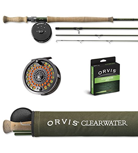 ORVIS CLEARWATER SPEY ROD OUTFIT with BATTENKILL DISC. REEL 8 wt. 12 ft. 4 pc. ( 128-4 ) for FRESH & - Rod Spey Orvis
