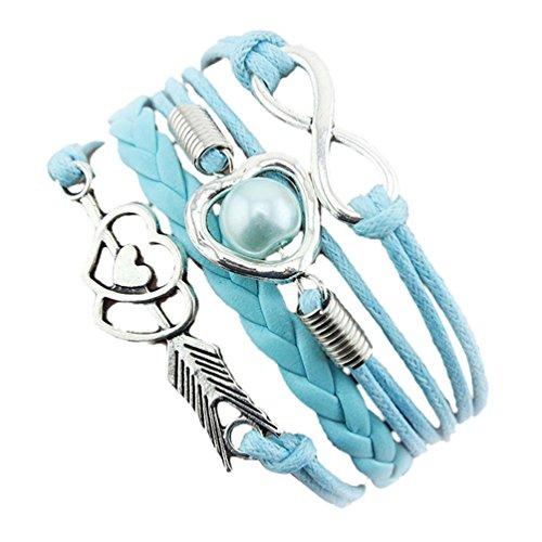 willsa-warm-love-heart-pearl-friendship-pu-leather-bracelet-gift-sky-blue