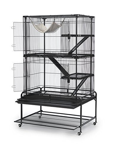 Image of Prevue Pet Products 484 Deluxe Critter Cage, Dark Gray
