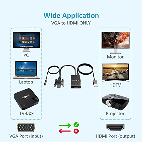 Buy vga to hdmi adapter