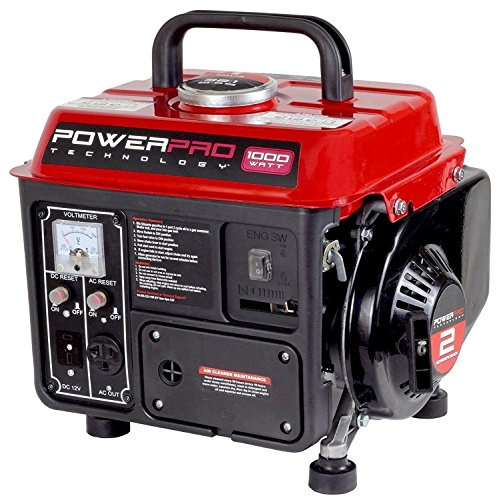 Gas-Powered-Portable-Generator-Uses-OilGas-Mix-Fuel-Quiet-Exhaust-System-PowerPro-56101-900-Running-Watts1000-Starting-Watts