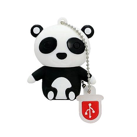 128gb Pen Drive Panda Shape Animal Novelty Usb Flash Drive Memory Stick
