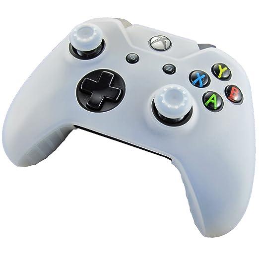 327 opinioni per Pandaren® Pelle cover skin per il Xbox One controller(bianco) x 1 + pollice